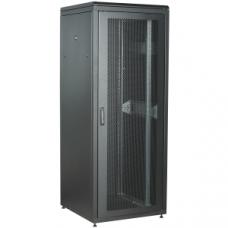 """ITK Шкаф сетевой 19"""" LINEA N 42U 600х800 мм перфорированная передняя дверь черный"""