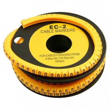Маркер для кабеля д.7.4мм, цифра 0-9