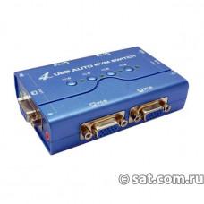 4-портовый USB KVM переключатель