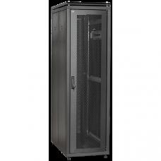 """ITK Шкаф сетевой 19"""" LINEA N 33U 600х1000 мм перфорированные двери черный"""