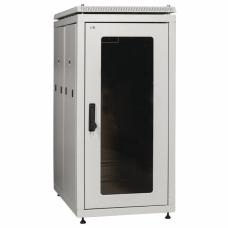"""ITK Шкаф сетевой 19"""" LINEA N 33U 600х1000 мм перфорированные двери серый"""